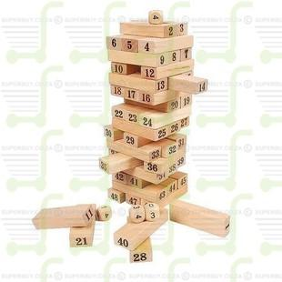 Layer Upon Layer The Ultimate Stacking Blocks Game Plain 48pcs