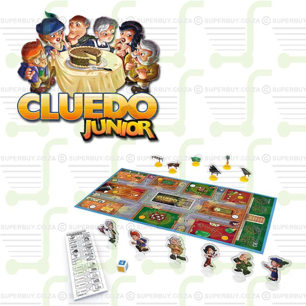 Cluedo Junior Family Fun Board Game