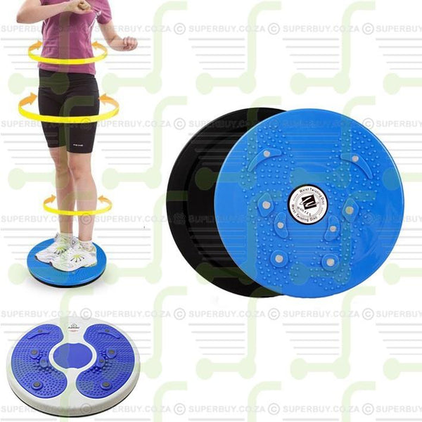 Waist Twister Disc with Magnetic Foot Massage Therapy