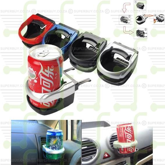 Car Vent Mount Holder for Cans and Bottles