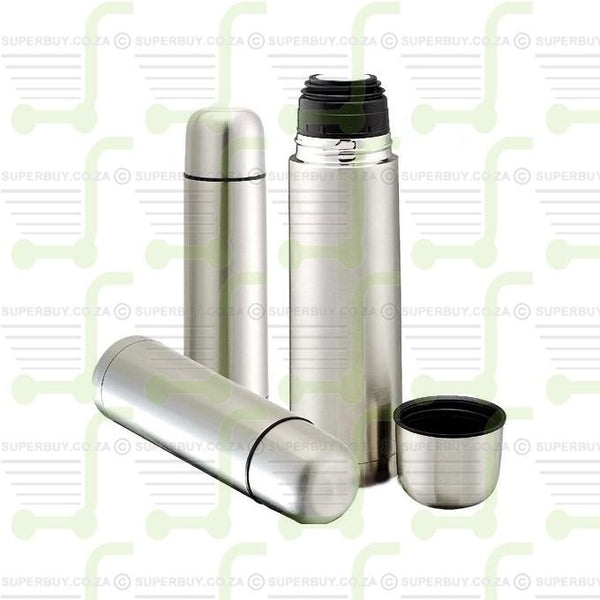 Stainless Steel Vacuum Flask with Mug 750ml