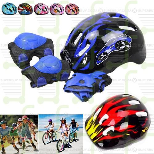 Kids Protective Gear for Bicycles, Roller Skates & Outdoor Activities