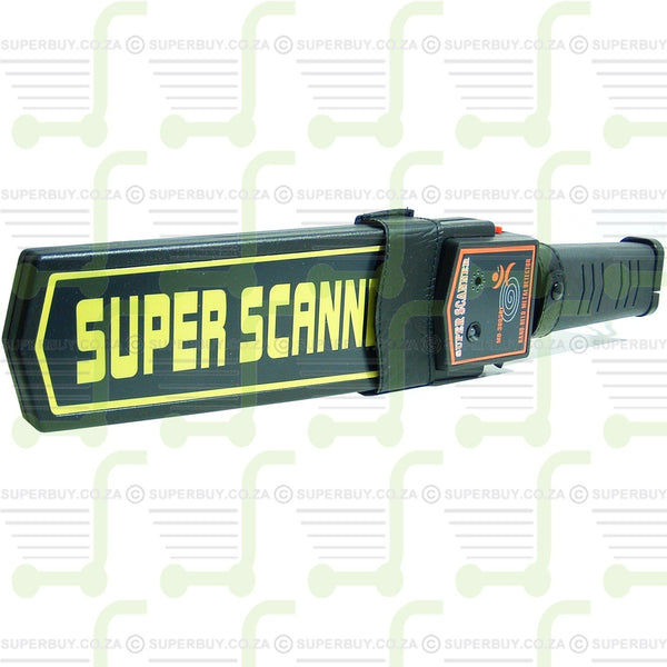 Super Scanner Hand Held Metal Detector 3003B1