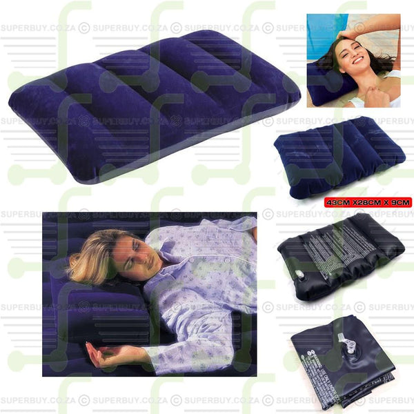 Inflatable Comfort Rest Air Pillow