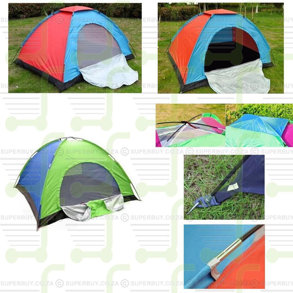 Single Cabin Tent Upto 4 Sleeper Camping Tent Easy Outdoor Set Up