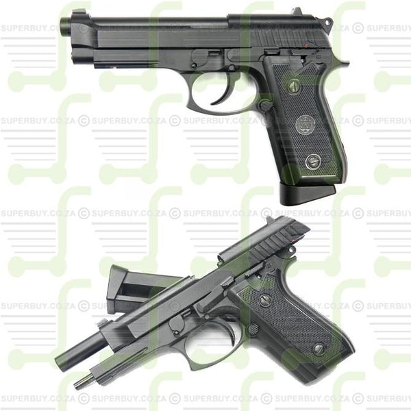 FULL METAL Replica Beretta Pistol BlowBack Semi Full Automatic CO2 BB 4.5mm Gun