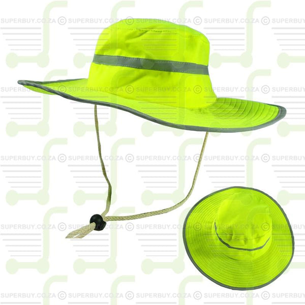 High Visibility Emergency Hat Yellow