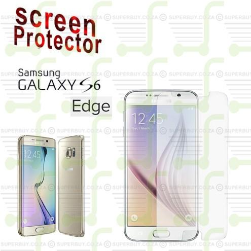 Screen Protector for Samsung Galaxy S6 Edge & S6 Edge +  Does not Cover Curved Edge