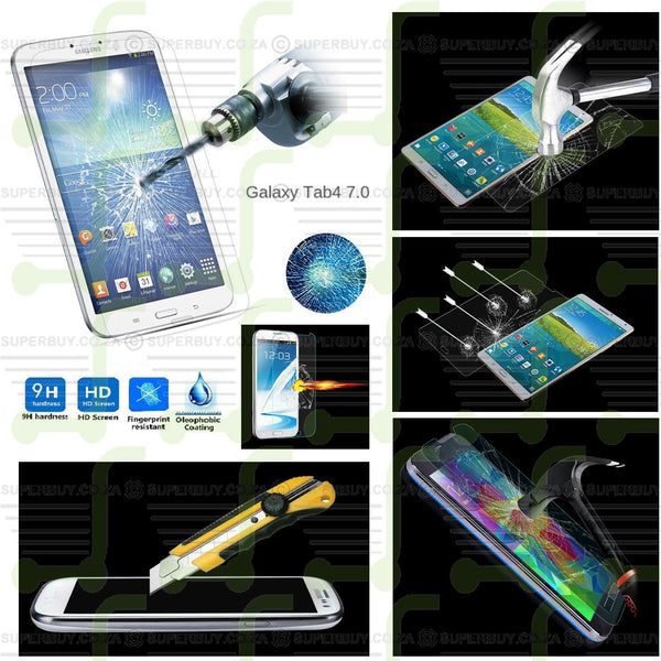 Tempered Glass Screen Protector for Samsung Galaxy Tab 4 7.0