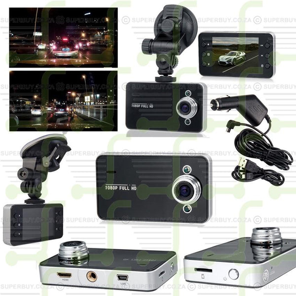 Car DVR Video Dash Camera Vehicle Recorder V4 (Vehicle Black box DVR)
