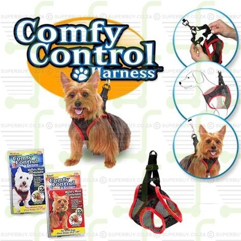 Comfy Control Dog Harness and Leash Medium