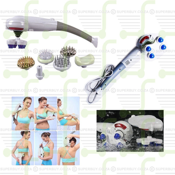 Magic Body Massager Powerful Massager With 7 Attachements