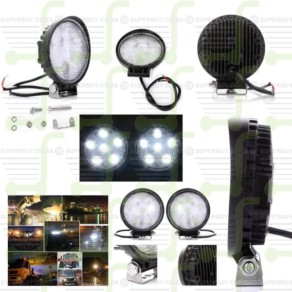 Spot Beam LED Work Light Bar Offroad Driving Lamp For Car ATV 4WD 12V/24 18W