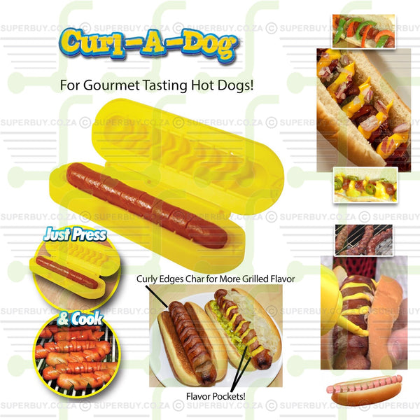 Curl A Dog Spiral Hot Dog Slicer