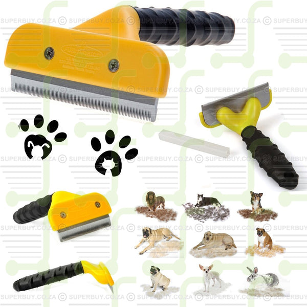 Professional Pet Dog Cat DeShedding Tool 10cm