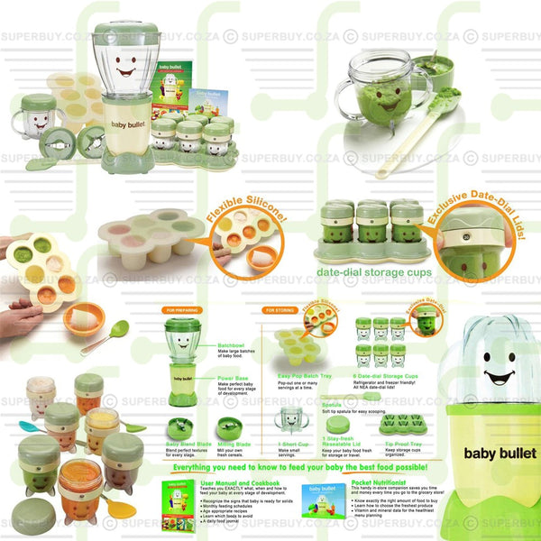 Magic Bullet Baby Bullet Complete Baby Food Making System