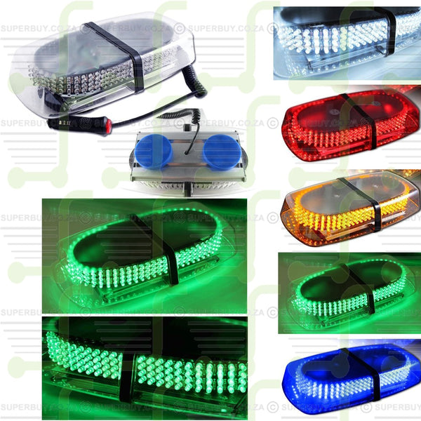 Green LED Strobe Emergency Warning Hazard Flashing Warning Light for Auto Car with Magnetic Base