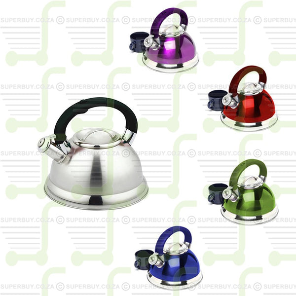 Stainless Steel Whistling Kettle 3L
