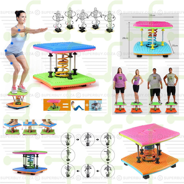 Amazing Weight Loss Twister Dancing Fitness Twist Run Stepper