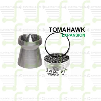 Gamo Tomahawk Pellet 4.5mm .177 Caliber Ammunition Air gun Air Rifle Pellets - Tins of 750