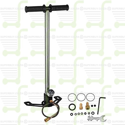 High Pressure PCP Hand Pump 4,500 psi 300 bar v2