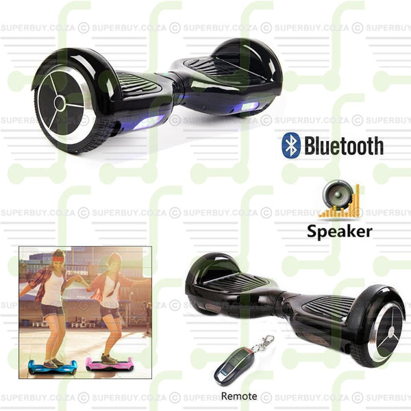 Two Wheel Self Balancing Board Scooter Drifting Board with Bluetooth and Remote Control 6.5 Inch