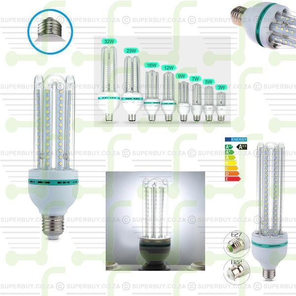 9W LED Corn Lamp Bulb Light Energy Saving Bright Screw E27