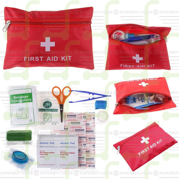 First Aid Kit Bag 39pc