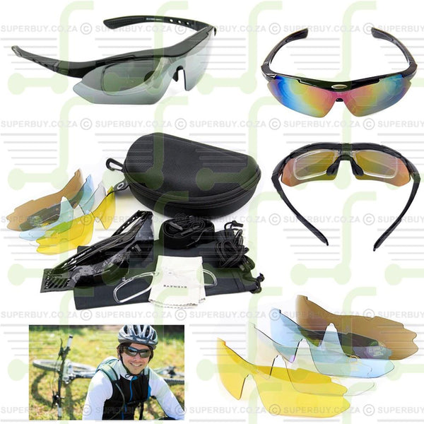 Polarized Sunglasses with Interchangeable Lenses