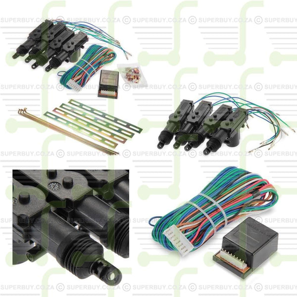 Central Lock Locking System Kit for 4 Door Car