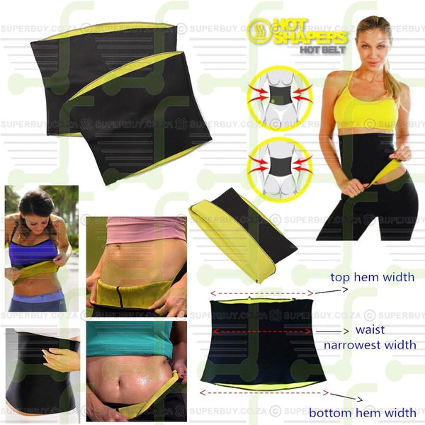 Stretch Neoprene Hot Shaping Slimming Waist Belt Body Shaper Training Corset Promote Sweat