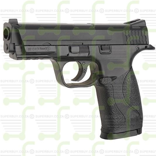 KWC S&W MP40 Blow Back Pistol Semi Automatic CO2 BB 4.5mm Gun