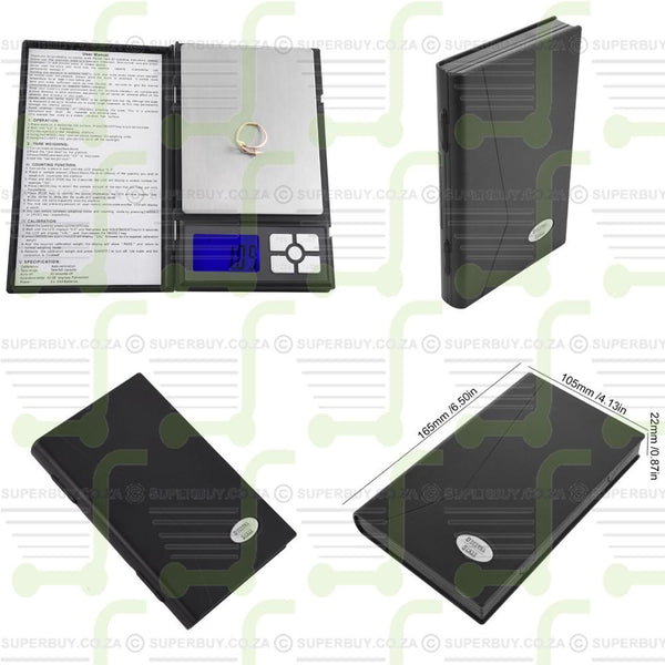 Professional Digital Notebook Scale 500g x 0.01g
