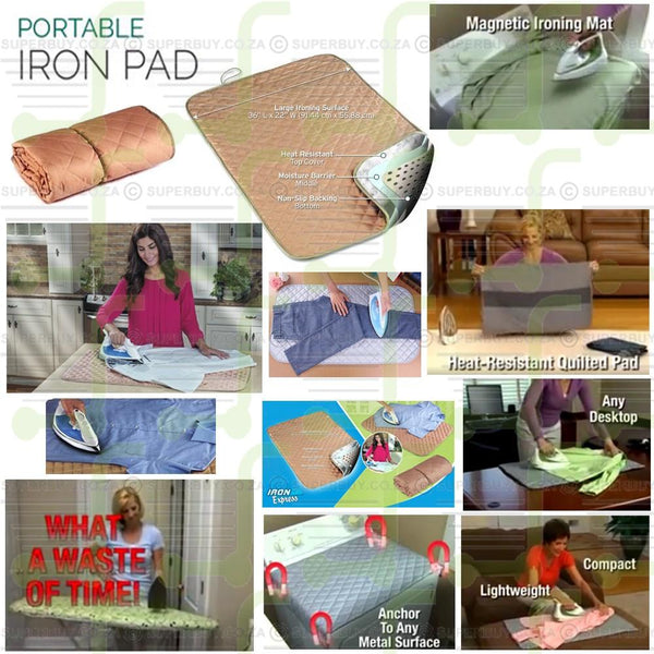Portable Iron Express Pad