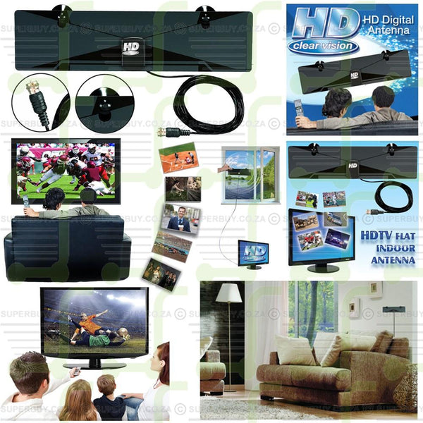 Indoor Clear Vision HD Digital Antenna
