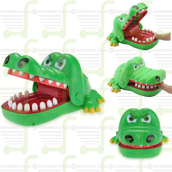 Crocodile Mouth Dentist Bite Chomper Toy Kid Party Game Toy