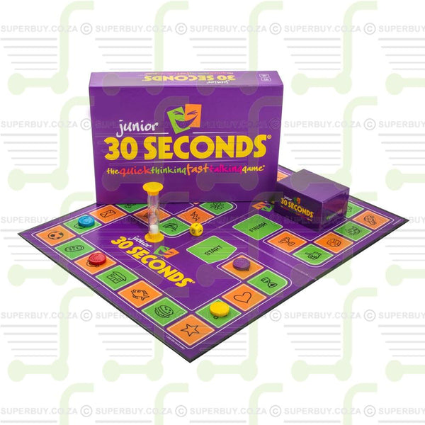 30 Seconds Junior Board Game The Quick Thinking Fast Talking Game