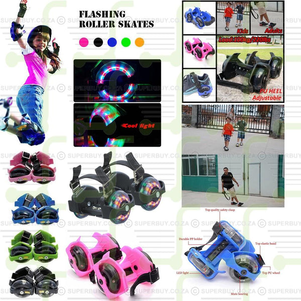 Flashing Drifting Wheels Roller Skates