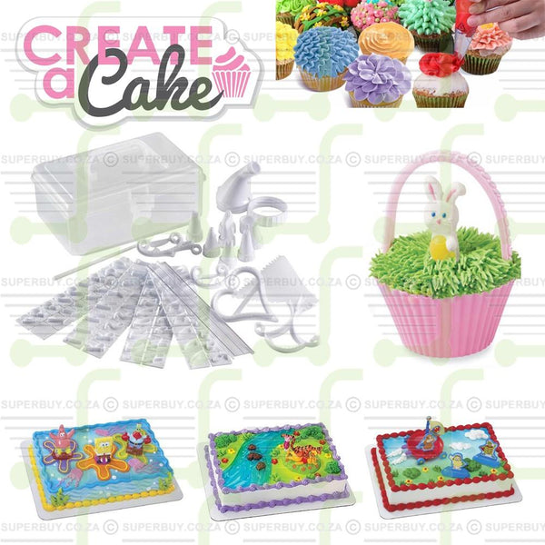 Cake Decorating Kit For Piping Frosting Icing Decorating 100 Piece