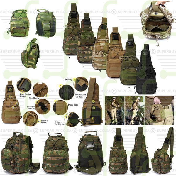 Tactical Military Backpack - Camo