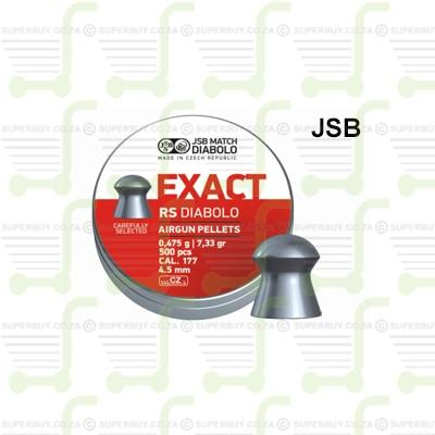 JSB Diabolo Exact RS 4.5mm .177 Caliber Ammunition Air gun Air Rifle Pellets - Tins of 500