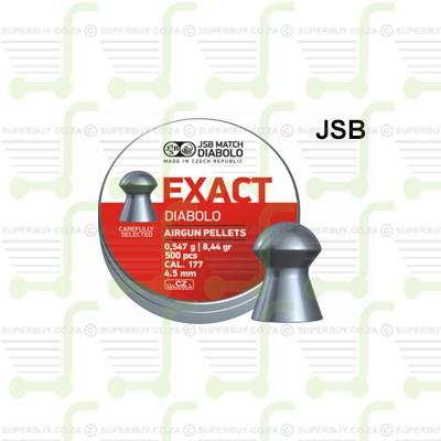 JSB Diabolo Exact 4.53mm .177 Caliber Ammunition Air gun Air Rifle Pellets - Tins of 500