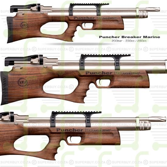 PUNCHER BREAKER MARINE BULLPUP PCP Air Rifle 4.5mm .177 cal