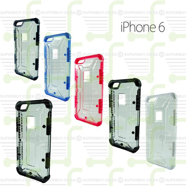 Ultra Fit Crystal Armor Hard Case for iPhone 6 - Navy