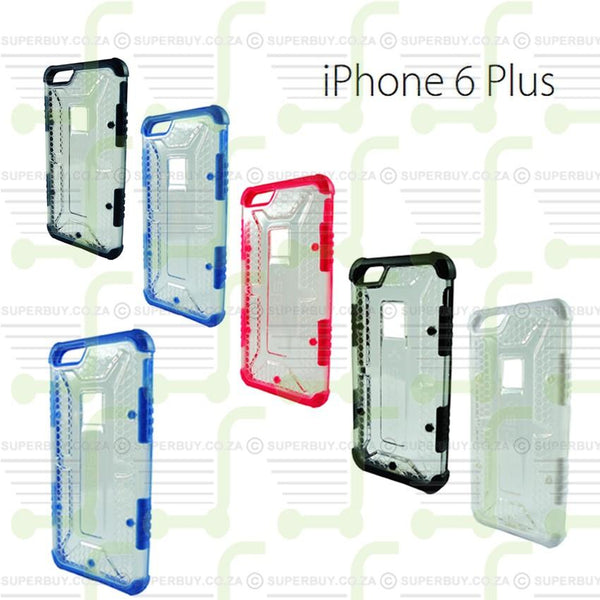 Ultra Fit Crystal Armor Hard Case for iPhone 6 Plus - Navy