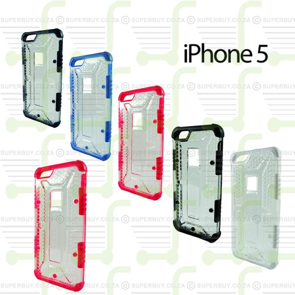 Ultra Fit Crystal Armor Hard Case for iPhone 5 - Pink