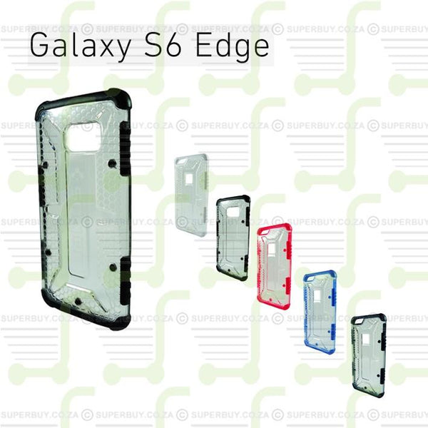 Ultra Fit Crystal Armor Hard Case for Samsung Galaxy 6 Edge - White