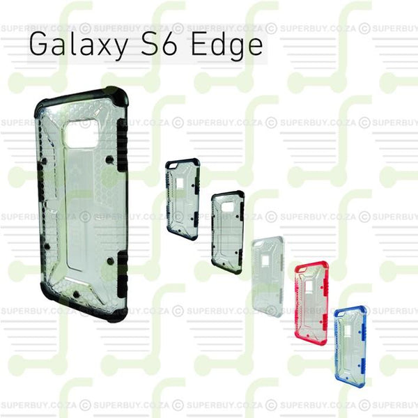 Ultra Fit Crystal Armor Hard Case for Samsung Galaxy 6 Edge - Navy