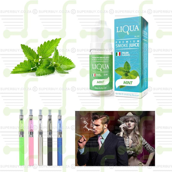 Mint E-Liquid Smoke Juice For Electronic Cigarettes 10ml