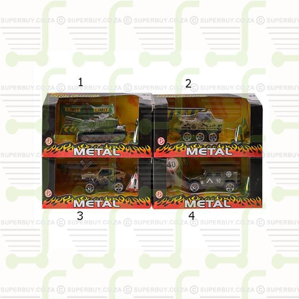 Diecast Military Vehicle Single Tanker